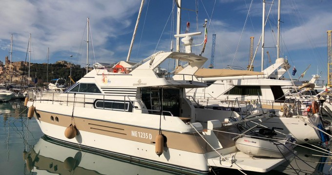 Hire Motorboat with or without skipper Gianetti Termini Imerese