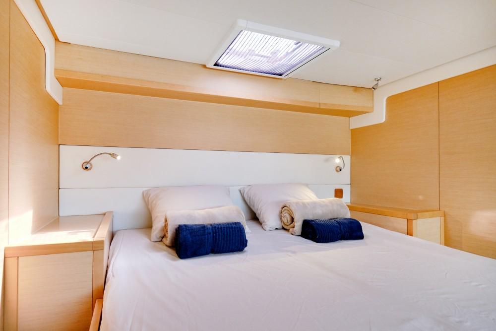 Boat rental Ibiza cheap Lagoon 52F