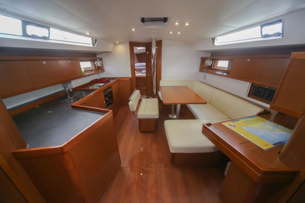 Boat rental Dubrovnik cheap Oceanis 45