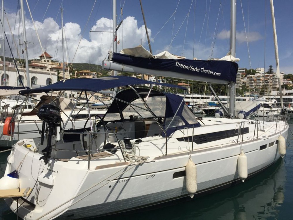 Boat rental Skiathos cheap Sun Odyssey 509