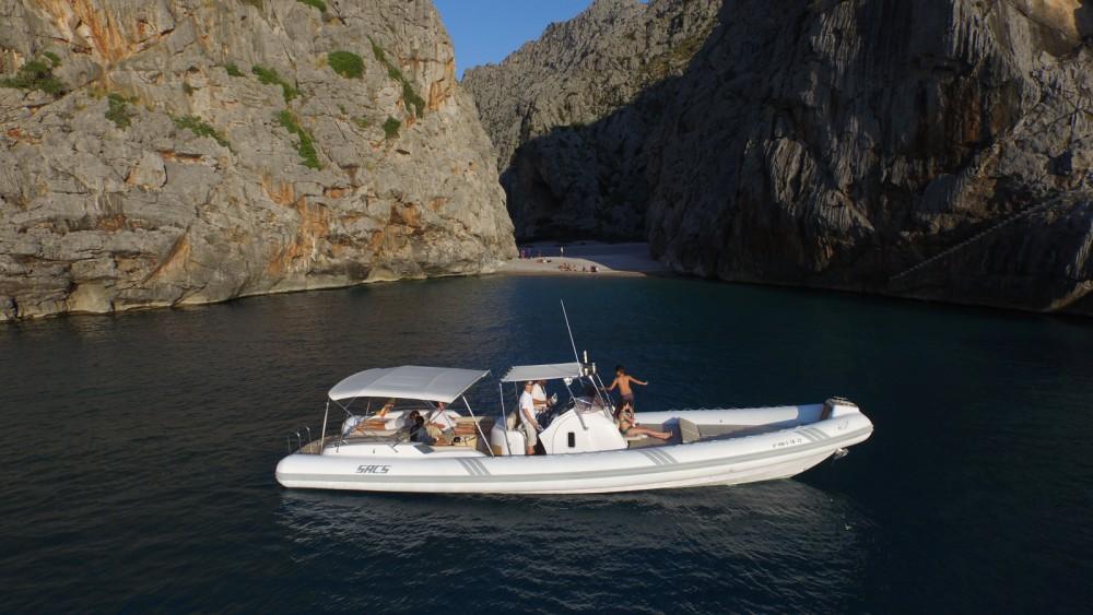 Boat rental Sóller cheap Stratos 42
