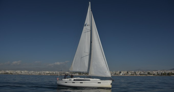 Bavaria Cruiser 41 between personal and professional Athens
