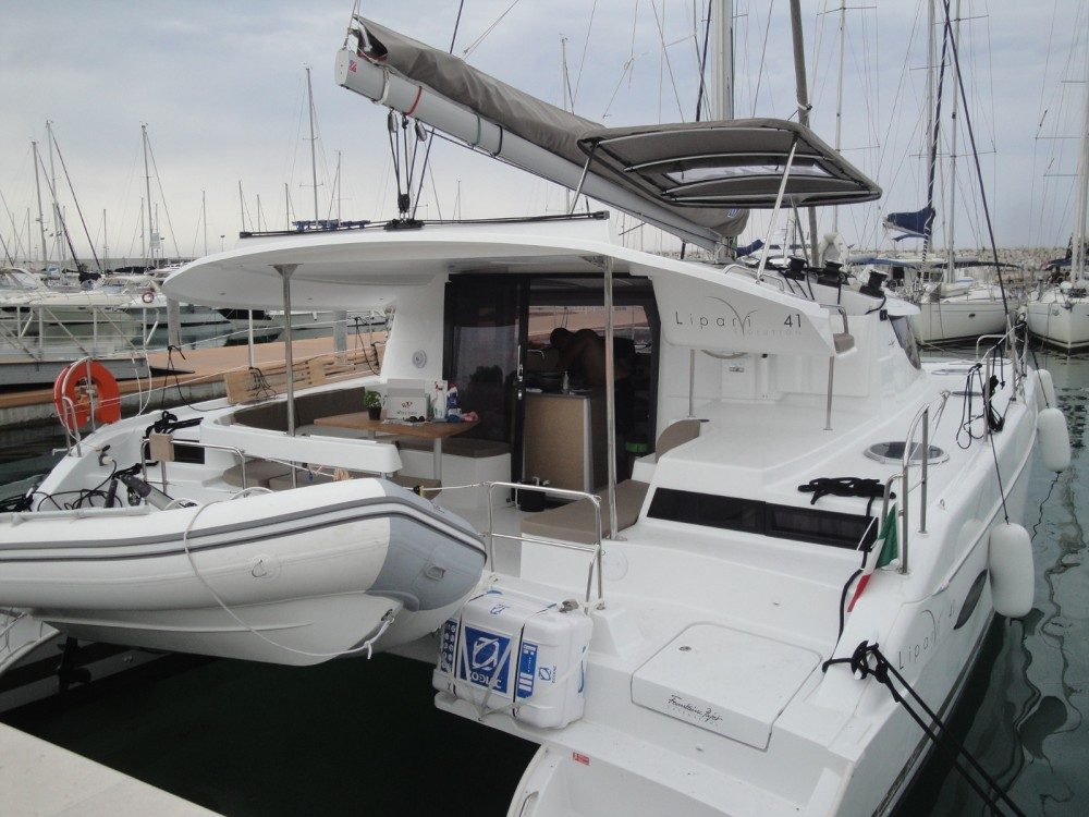Foutaine-Pajot LIPARI 41 EVOLUTION between personal and professional Cannigione