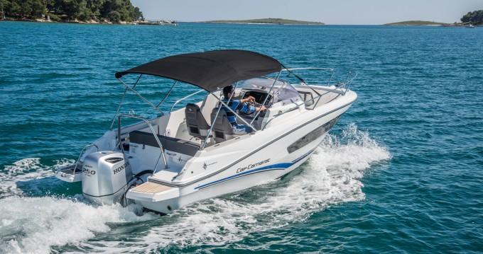 Rental Motorboat in Veruda - Jeanneau Jeanneau Cap Camarat 7.5 WA SERIE 2