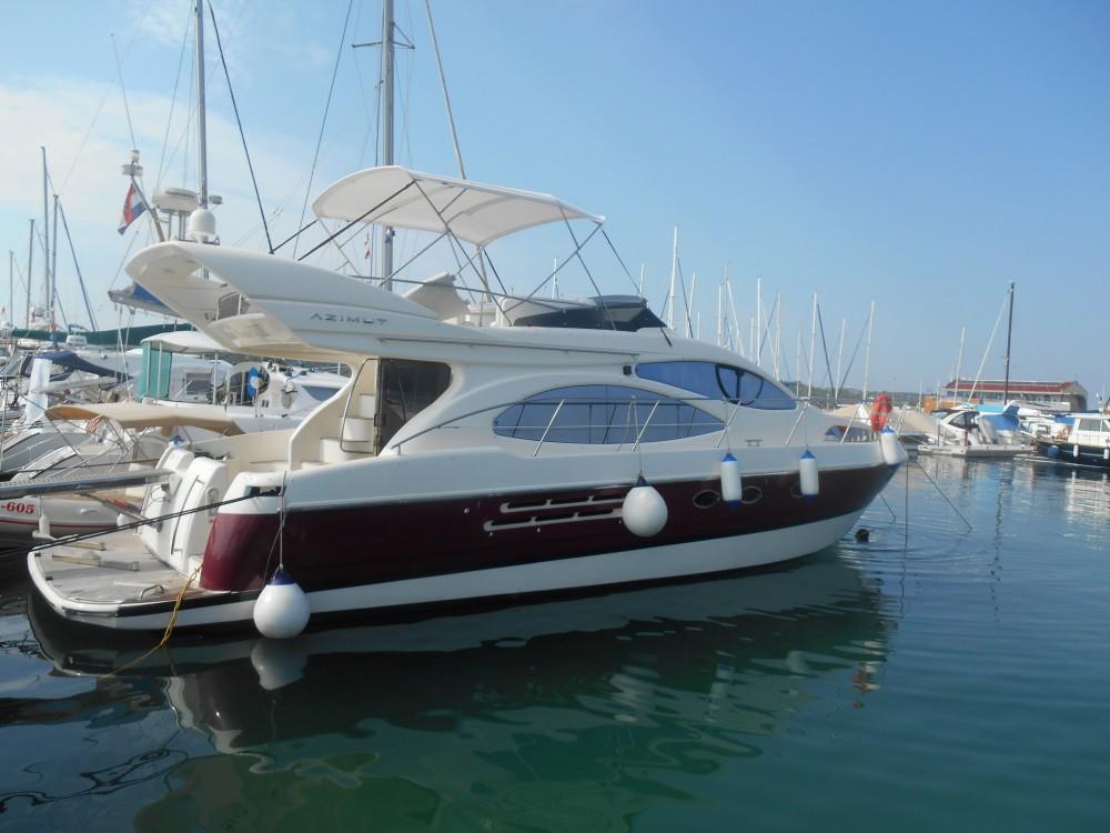 Boat rental Marina Pirovac cheap Azimut 46