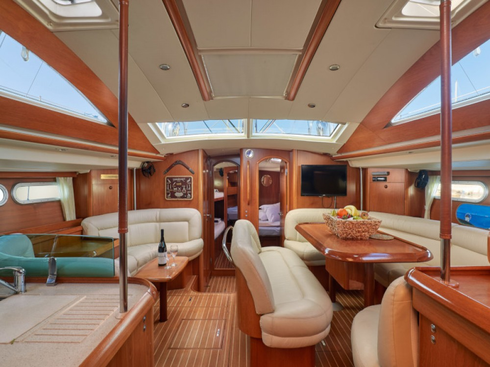 Jeanneau Sun Odyssey 54DS between personal and professional Alimos Marina