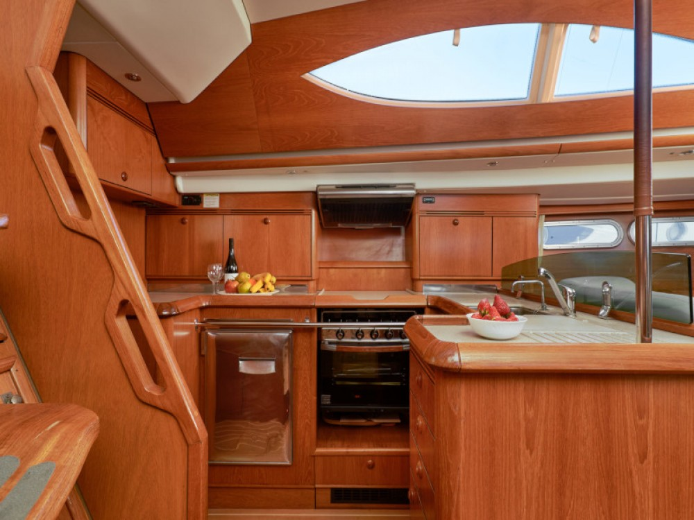 Rental Sailboat in Alimos Marina - Jeanneau Sun Odyssey 54DS
