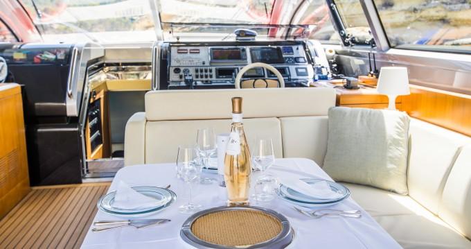 Boat rental Palma de Mallorca cheap Riva 68 Ego