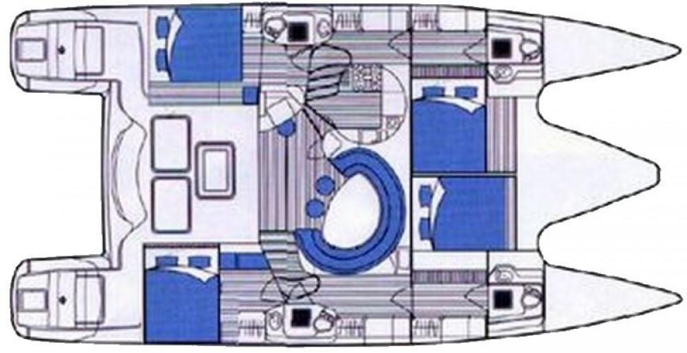 Rental Catamaran in Marina Baotić - Alliaura Privilege 465