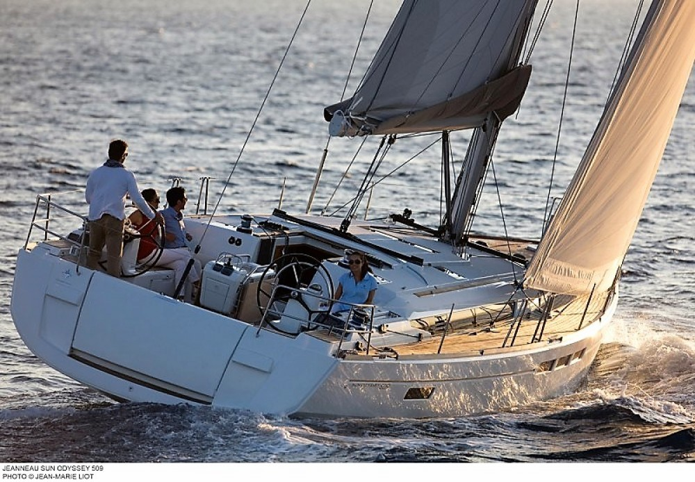 Jeanneau Sun Odyssey 509 between personal and professional Grad Pula