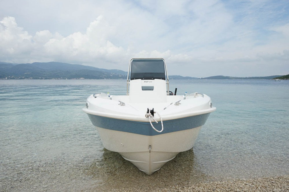 Boat rental Peloponnese, West Greece and Ionian Sea cheap 150cc