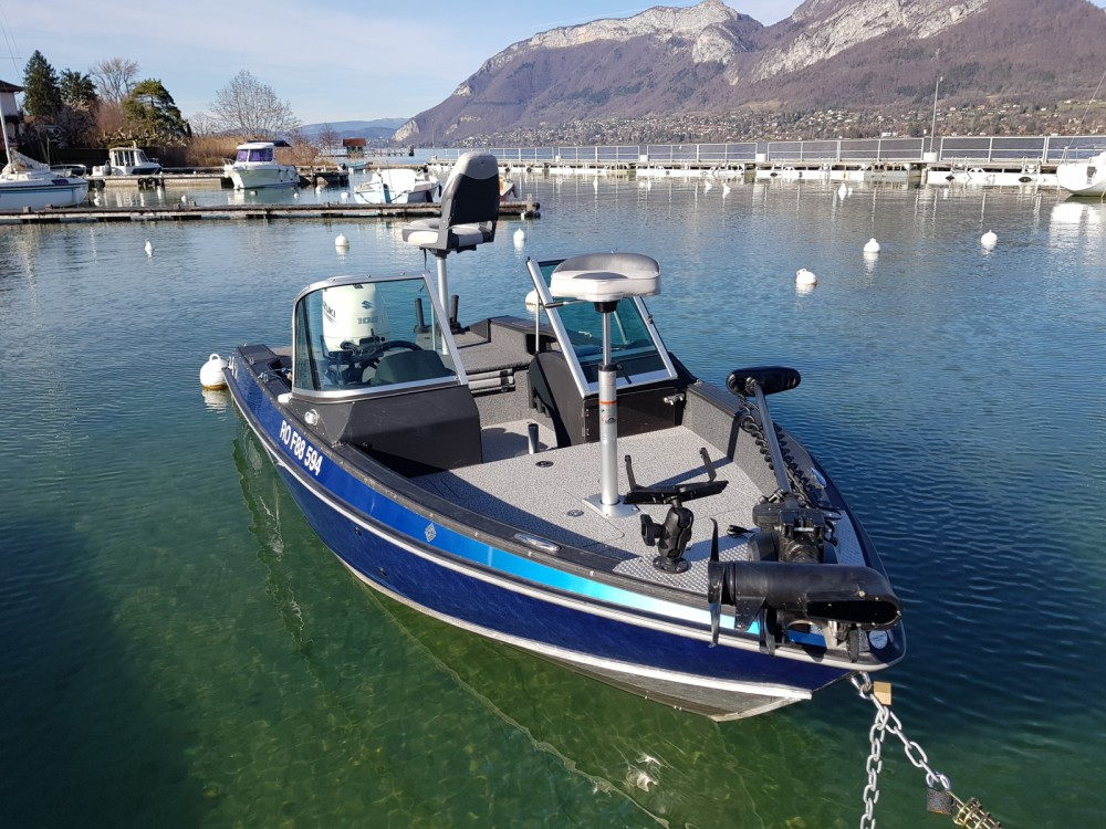 Rental Motor boat FINVAL with a permit