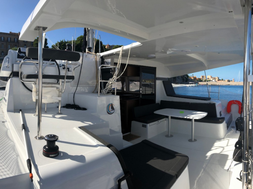 Boat rental Palermo cheap Lagoon 42