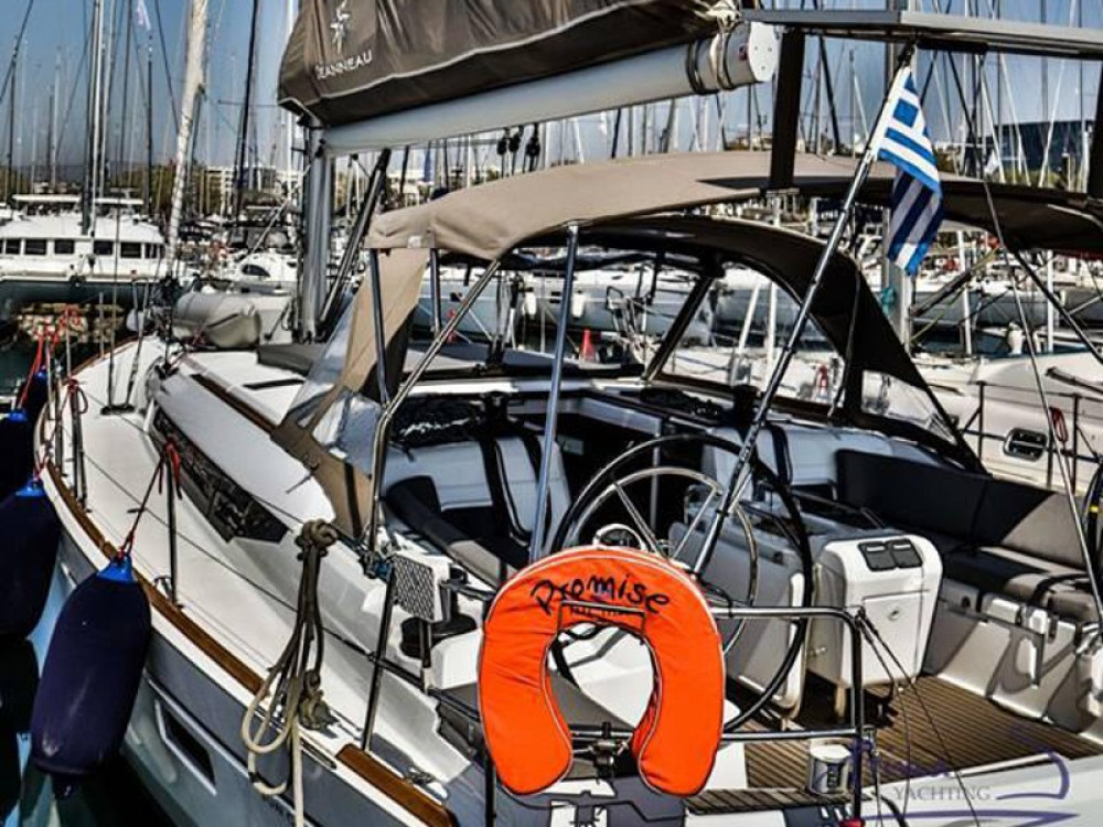 Boat rental Jeanneau Sun Odyssey 509 (2015 )( FULL REFIT 2020 - A/C,GENERATOR,INVENTER ) in Alimos Marina on Samboat