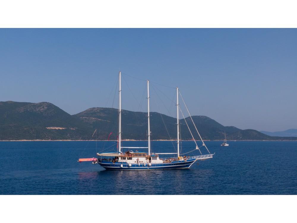 Rent a  Gulet Artemis Alimos Marina