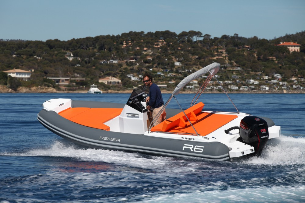 Renier R6 between personal and professional Le Lavandou
