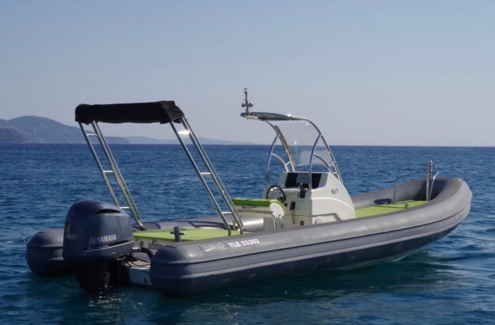 Boat rental Sea Water Smeralda 240 in Le Lavandou on Samboat
