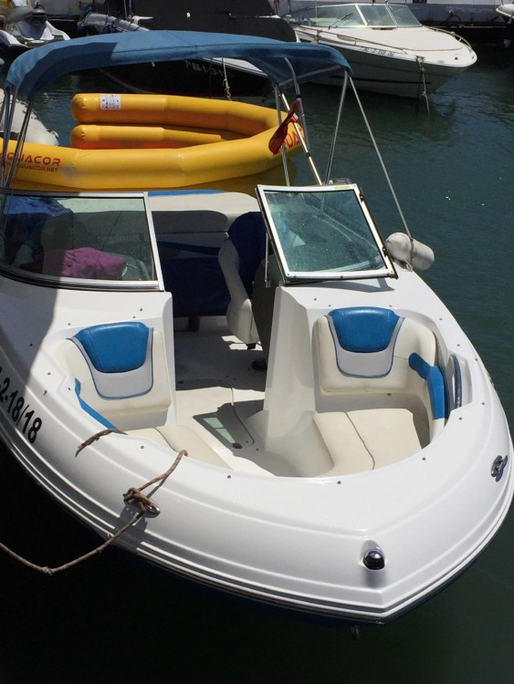 Rinker Captiva 196 between personal and professional Marbella
