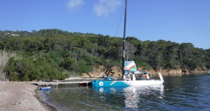 Boat rental Le Lavandou cheap extreme 40