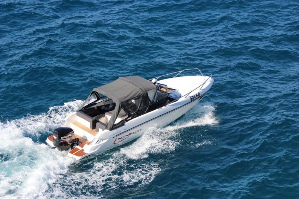 Rental Motor boat in Split - Nordkapp Noblesse 790/830
