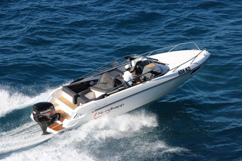 Rental Motor boat Nordkapp with a permit
