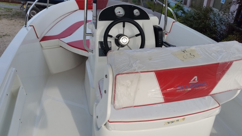 Rental Motor boat in Moniga del Garda - Allegra Boats All 18 Open
