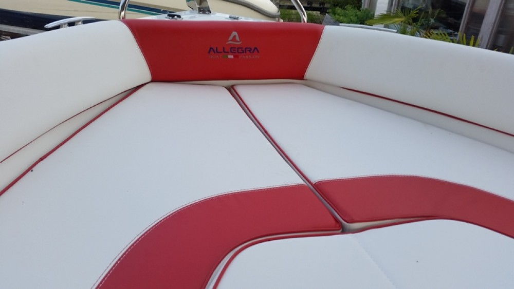 Rental Motor boat Allegra Boats with a permit