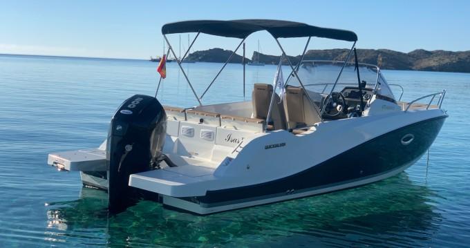 Boat rental Mahón cheap Activ 675 Sundeck