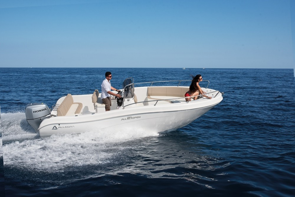 Rent a Allegra Boats 21 Open Moniga del Garda
