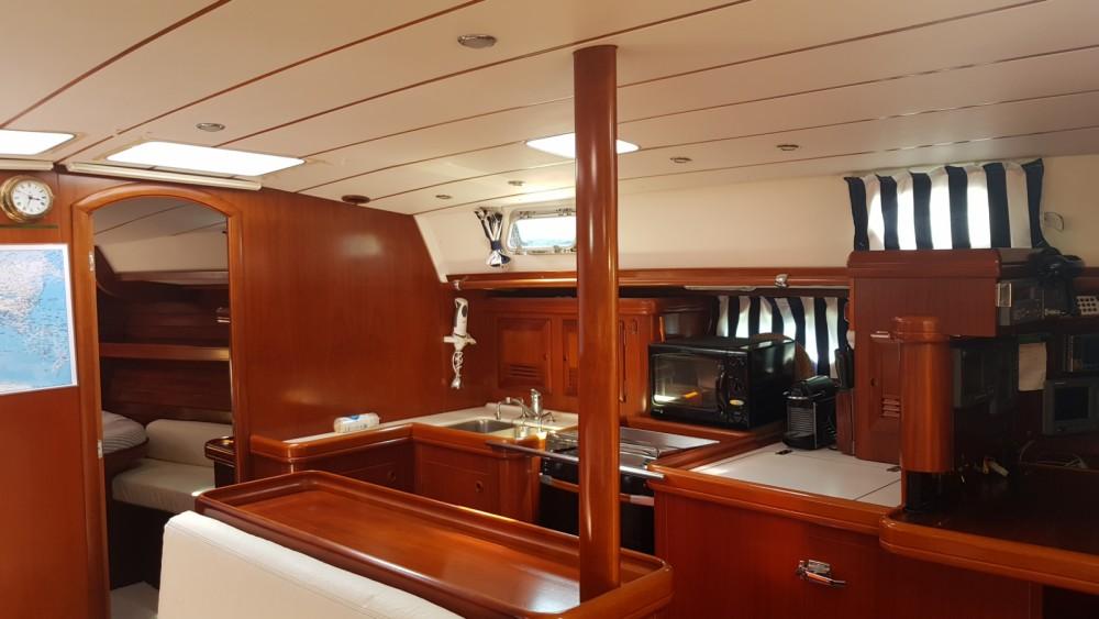 Boat rental San Javier cheap Oceanis 50