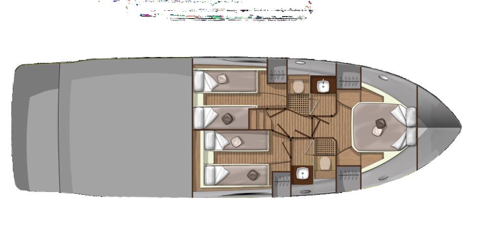 Rental yacht Podstrana - Sessa Marine F47 on SamBoat
