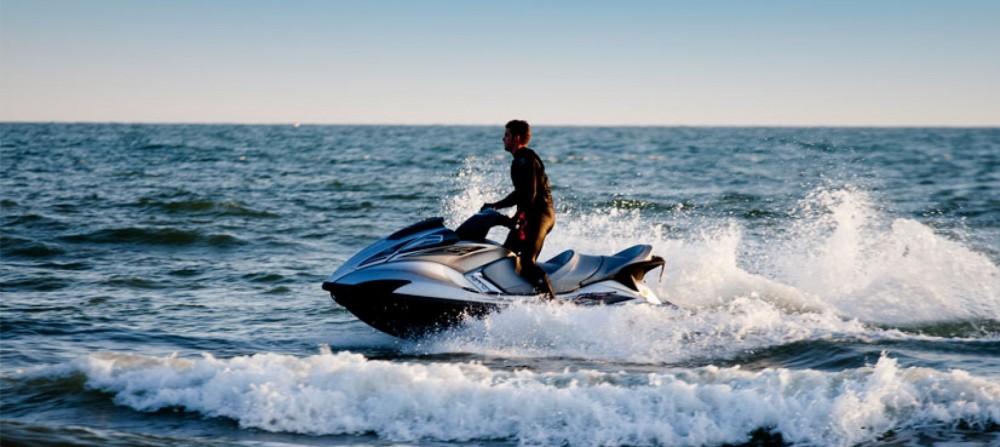 Rental Jet Ski Seadoo with a permit