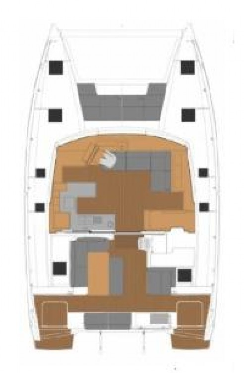 Hire Catamaran with or without skipper Fountaine Pajot