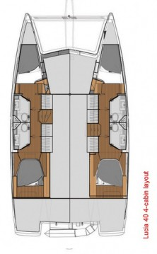 Rental yacht Seget Donji - Fountaine Pajot Lucia 40 on SamBoat