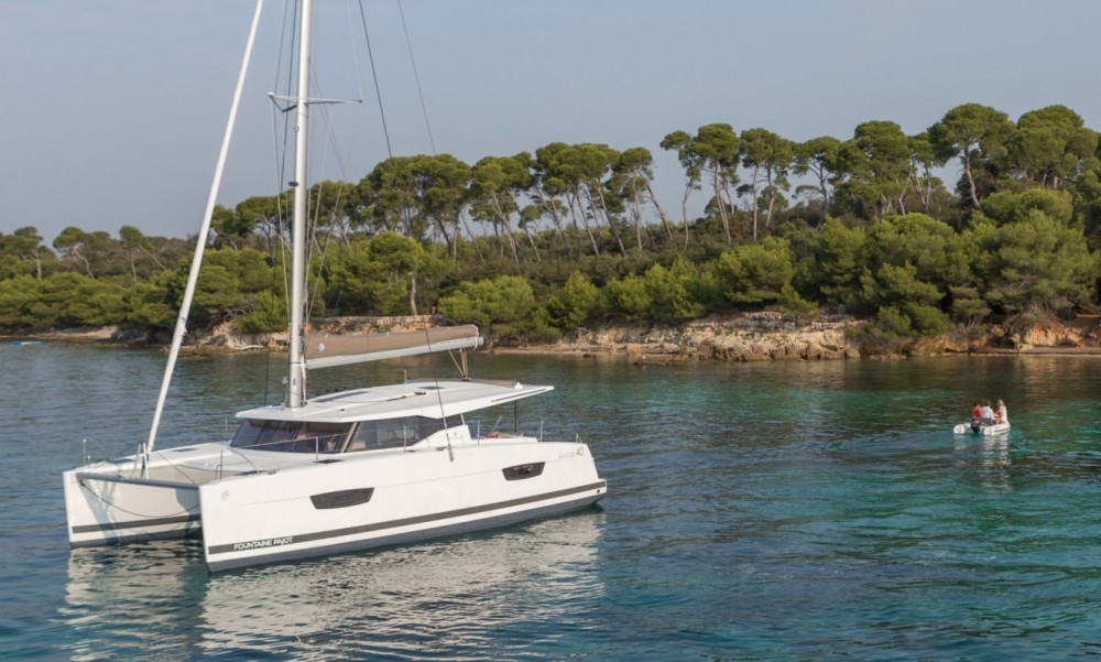 Rental yacht Seget Donji - Fountaine Pajot Fountaine Pajot Lucia 40 on SamBoat