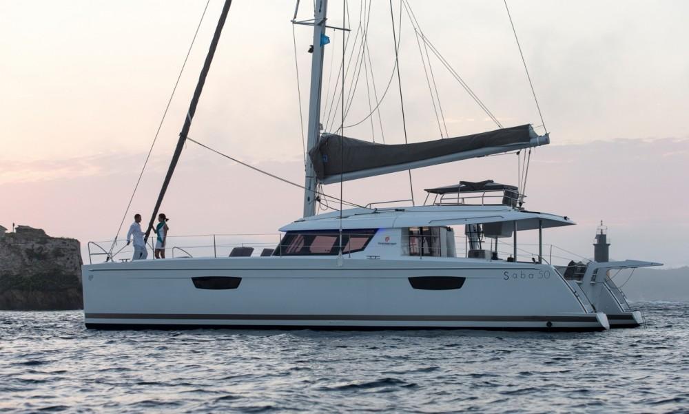 Rental Catamaran in  - Fountaine Pajot Fountaine Pajot Saba 50 - 6 + 2 cab.