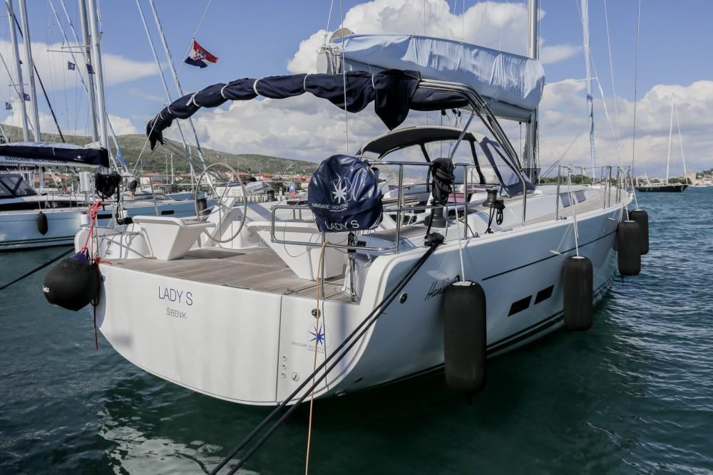 Boat rental Seget Donji cheap Hanse 575