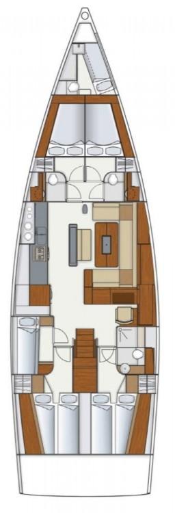 Boat rental Hanse Hanse 575 in Seget Donji on Samboat
