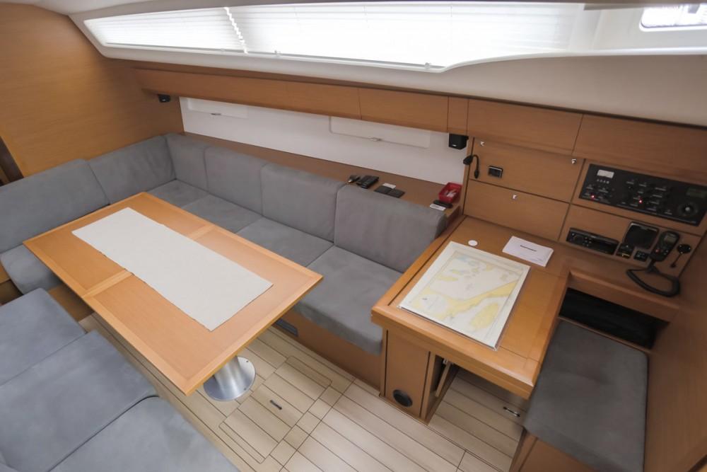 Boat rental Croatia cheap Jeanneau 54