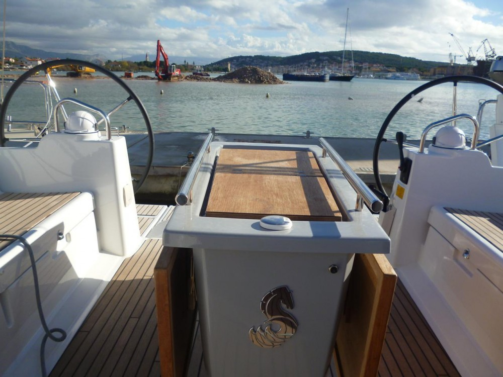 Boat rental Croatia cheap Oceanis 48