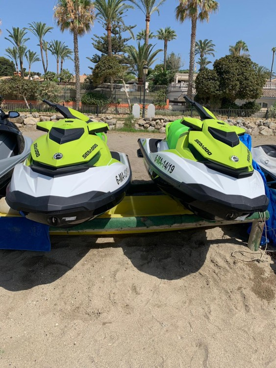 Hire Jet Ski with or without skipper Seadoo Marbella
