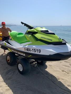 Sea-Doo GTI between personal and professional Marbella