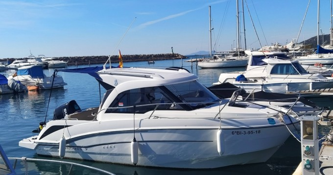 Motorboat for rent Cambrils at the best price