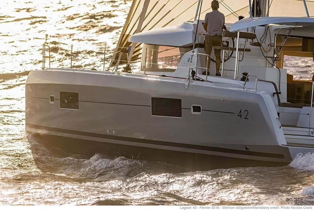 Boat rental Seget Donji cheap Lagoon 42 - 4 + 2 cab.