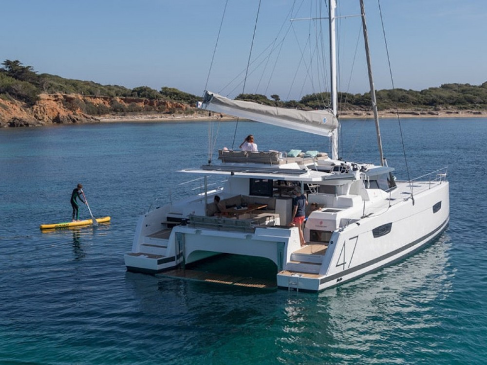 Boat rental Fountaine Pajot Fountaine Pajot - Saona 47  in Municipality of Kalamata on Samboat