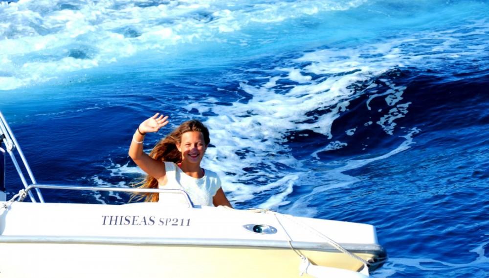 Rental Motorboat in Gaios - Assos Marine 500