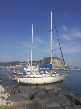 Rental Sailboat Comar with a permit
