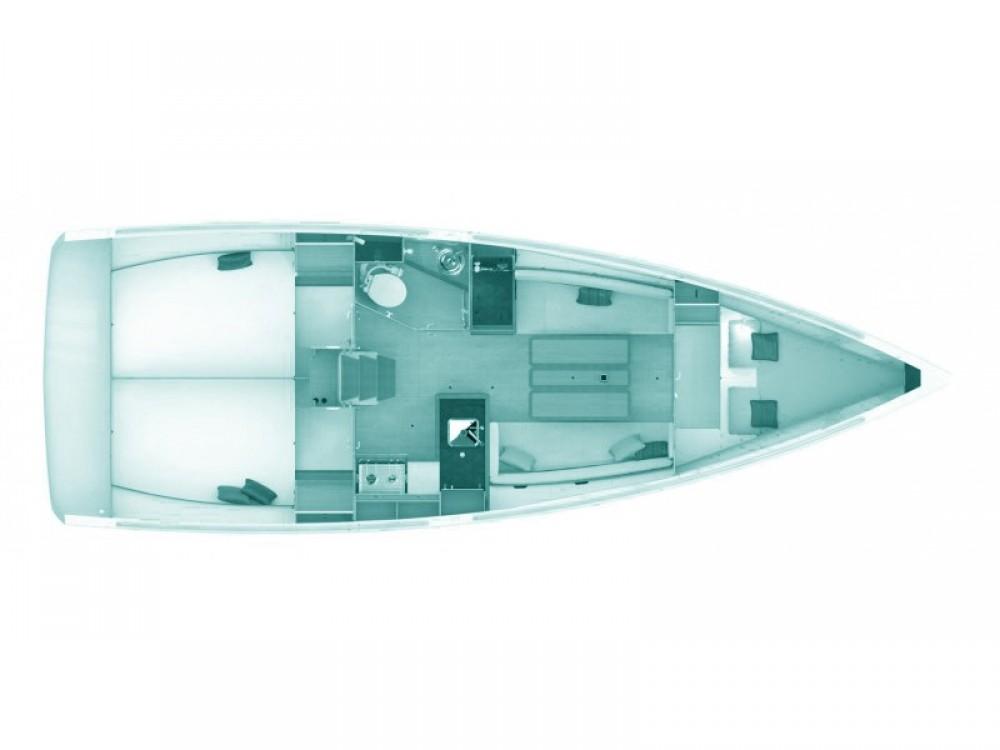 Boat rental Jeanneau Sun Odyssey 349 in Volos on Samboat