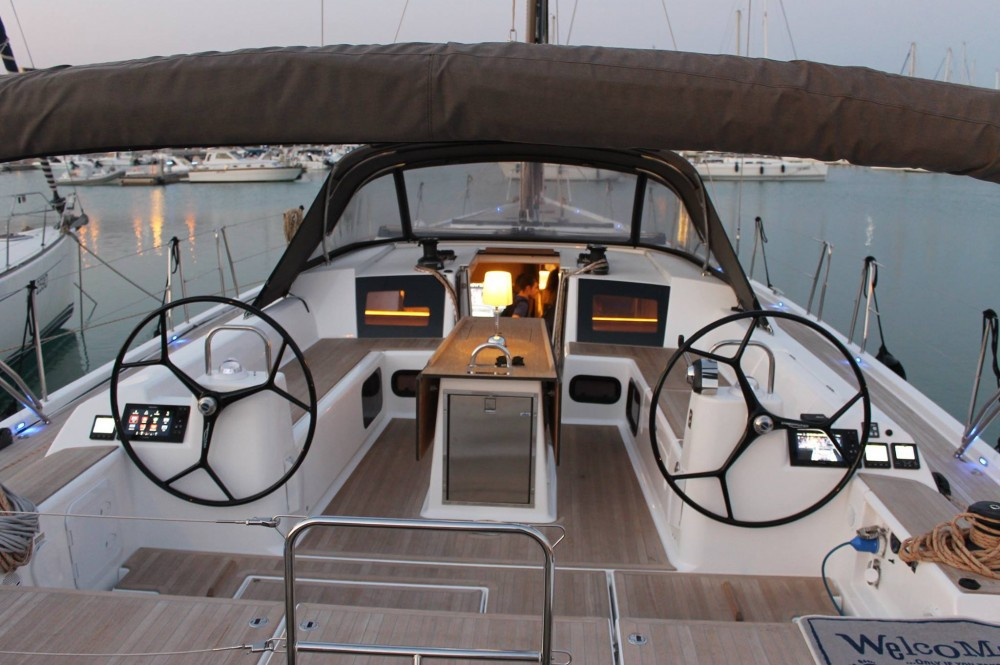 Boat rental Dufour Dufour 56 Exclusive in Capo d'Orlando on Samboat