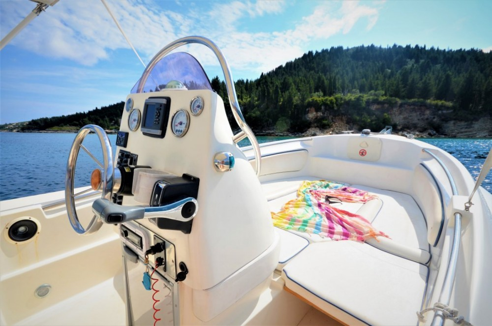 Hire RIB with or without skipper Scanner Gaios